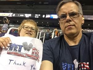 Richard attended Arizona Rattlers vs. Salt Lake Screaming Eagles - IFL on May 20th 2017 via VetTix