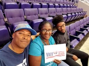 Johnnie attended Arizona Rattlers vs. Salt Lake Screaming Eagles - IFL on May 20th 2017 via VetTix