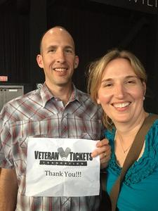 Jason attended Brad Paisley With Special Guest Dustin Lynch, Chase Bryant, and Lindsay Ell on May 19th 2017 via VetTix