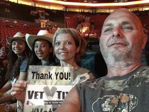 Robert attended Soul2Soul the World Tour 2017 on May 26th 2017 via VetTix