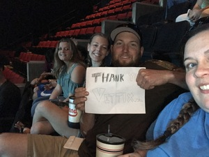Samantha attended Soul2Soul the World Tour 2017 on May 26th 2017 via VetTix