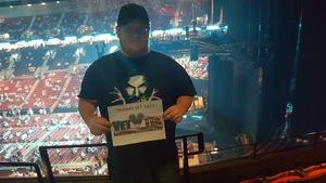 John attended Soul2Soul the World Tour 2017 on May 26th 2017 via VetTix