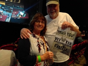 Gerry attended Soul2Soul the World Tour 2017 on May 26th 2017 via VetTix