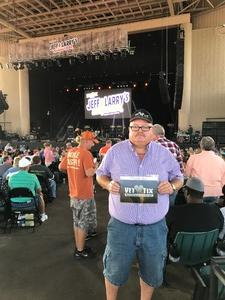 Jeffrey attended Jeff and Larry's Backyard BBQ Plus the Marshall Tucker Band - Lawn Seats on Aug 26th 2017 via VetTix