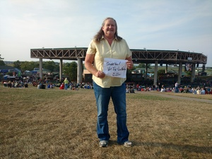 Janet attended Jeff and Larry's Backyard BBQ Plus the Marshall Tucker Band - Lawn Seats on Aug 26th 2017 via VetTix