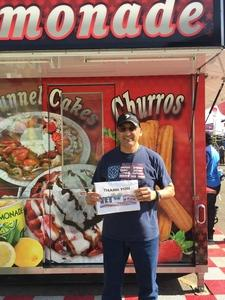 Abelardo attended Arizona State Fair Armed Forces Day - Tickets Are Only Good for October 20th on Oct 20th 2017 via VetTix