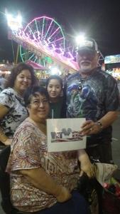 Louis attended Arizona State Fair Armed Forces Day - Tickets Are Only Good for October 20th on Oct 20th 2017 via VetTix