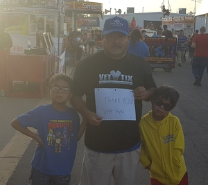 Lorenzo attended Arizona State Fair Armed Forces Day - Tickets Are Only Good for October 20th on Oct 20th 2017 via VetTix