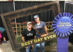 JOHN attended Arizona State Fair Armed Forces Day - Tickets Are Only Good for October 20th on Oct 20th 2017 via VetTix