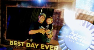 Al attended Arizona State Fair Armed Forces Day - Tickets Are Only Good for October 20th on Oct 20th 2017 via VetTix