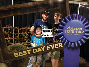 Jeffrey attended Arizona State Fair Armed Forces Day - Tickets Are Only Good for October 20th on Oct 20th 2017 via VetTix