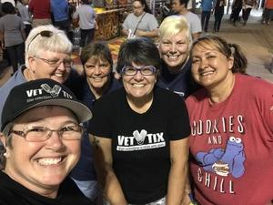 Kelly attended Arizona State Fair Armed Forces Day - Tickets Are Only Good for October 20th on Oct 20th 2017 via VetTix