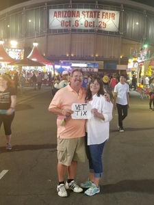Michael attended Arizona State Fair Armed Forces Day - Tickets Are Only Good for October 20th on Oct 20th 2017 via VetTix