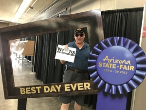Jones Family attended Arizona State Fair Armed Forces Day - Tickets Are Only Good for October 20th on Oct 20th 2017 via VetTix