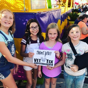 Todd attended Arizona State Fair Armed Forces Day - Tickets Are Only Good for October 20th on Oct 20th 2017 via VetTix