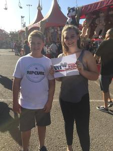 Ron attended Arizona State Fair Armed Forces Day - Tickets Are Only Good for October 20th on Oct 20th 2017 via VetTix