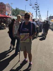 Gregory attended Arizona State Fair Armed Forces Day - Tickets Are Only Good for October 20th on Oct 20th 2017 via VetTix