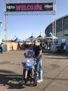David attended Arizona State Fair Armed Forces Day - Tickets Are Only Good for October 20th on Oct 20th 2017 via VetTix