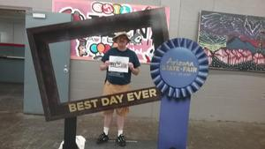 Robert attended Arizona State Fair Armed Forces Day - Tickets Are Only Good for October 20th on Oct 20th 2017 via VetTix