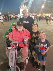 Danny attended Arizona State Fair Armed Forces Day - Tickets Are Only Good for October 20th on Oct 20th 2017 via VetTix