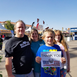 Bruce attended Arizona State Fair Armed Forces Day - Tickets Are Only Good for October 20th on Oct 20th 2017 via VetTix