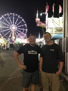 aaron attended Arizona State Fair Armed Forces Day - Tickets Are Only Good for October 20th on Oct 20th 2017 via VetTix