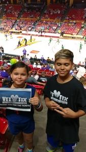 Hector M. Diaz attended Phoenix Mercury vs. Seattle Storm - WNBA - Playoff Game! on Sep 6th 2017 via VetTix