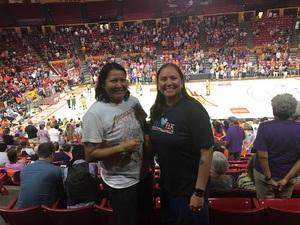 Teresa attended Phoenix Mercury vs. Seattle Storm - WNBA - Playoff Game! on Sep 6th 2017 via VetTix