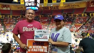 Wil attended Phoenix Mercury vs. Seattle Storm - WNBA - Playoff Game! on Sep 6th 2017 via VetTix