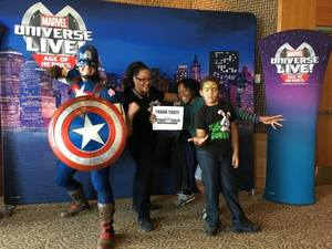 Click To Read More Feedback from Marvel Universe Live! Age of Heroes - Show Tickets + Captain America Meet & Greet