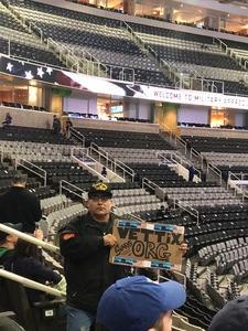 Arturo attended San Jose Sharks vs. New York Rangers - NHL - Alternate Jersey Auction - Military Appreciation on Jan 25th 2018 via VetTix