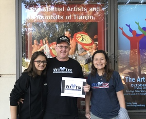 William attended The Martial Artists and Acrobats of Tianjin, People's Republic of China on Oct 8th 2017 via VetTix