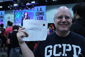 Brian attended Stan Lee's Los Angeles Comic Con - Tickets Are Good for All 3 Days on Oct 27th 2017 via VetTix
