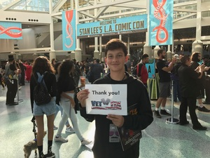 Brenda attended Stan Lee's Los Angeles Comic Con - Tickets Are Good for All 3 Days on Oct 27th 2017 via VetTix