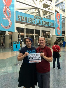 Cristan attended Stan Lee's Los Angeles Comic Con - Tickets Are Good for All 3 Days on Oct 27th 2017 via VetTix