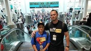 Bryan attended Stan Lee's Los Angeles Comic Con - Tickets Are Good for All 3 Days on Oct 27th 2017 via VetTix