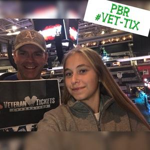Stuart attended PBR - Built Ford Tough Series on Oct 21st 2017 via VetTix