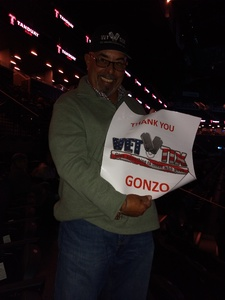 Gonzo attended Soul2Soul Tour With Faith Hill and Tim McGraw on Oct 27th 2017 via VetTix