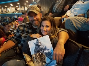 Christopher attended Soul2Soul Tour With Faith Hill and Tim McGraw on Oct 27th 2017 via VetTix