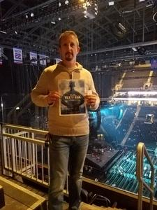 CARY attended Soul2Soul Tour With Faith Hill and Tim McGraw on Oct 27th 2017 via VetTix
