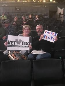 Jeri attended Soul2Soul Tour With Faith Hill and Tim McGraw on Oct 27th 2017 via VetTix