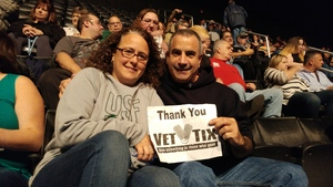Vincent attended Soul2Soul Tour With Faith Hill and Tim McGraw on Oct 27th 2017 via VetTix