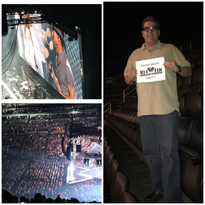 EDWIN attended Soul2Soul Tour With Faith Hill and Tim McGraw on Oct 27th 2017 via VetTix