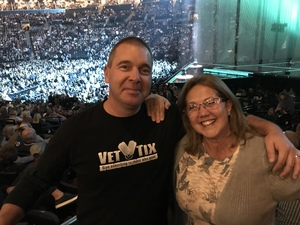 Bill attended Soul2Soul Tour With Faith Hill and Tim McGraw on Oct 27th 2017 via VetTix