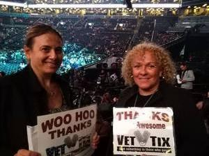 Ramona attended Soul2Soul Tour With Faith Hill and Tim McGraw on Oct 27th 2017 via VetTix