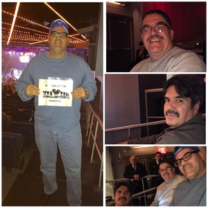 EDWIN attended Glory 48 New York - Presented by Glory Kickboxing - Live at Madison Square Garden on Dec 1st 2017 via VetTix