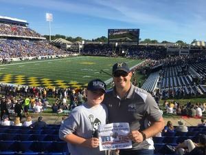 Colin Echols attended Navy Midshipmen vs. UCF - NCAA Football on Oct 21st 2017 via VetTix