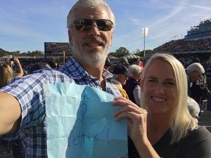 Sean and Millie attended Navy Midshipmen vs. UCF - NCAA Football on Oct 21st 2017 via VetTix