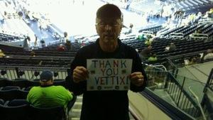 Robert attended Notre Dame Fighting Irish vs. Marquette - NCAA Women's Basketball on Dec 20th 2017 via VetTix