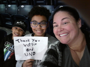 Melissa attended Notre Dame Fighting Irish vs. Marquette - NCAA Women's Basketball on Dec 20th 2017 via VetTix